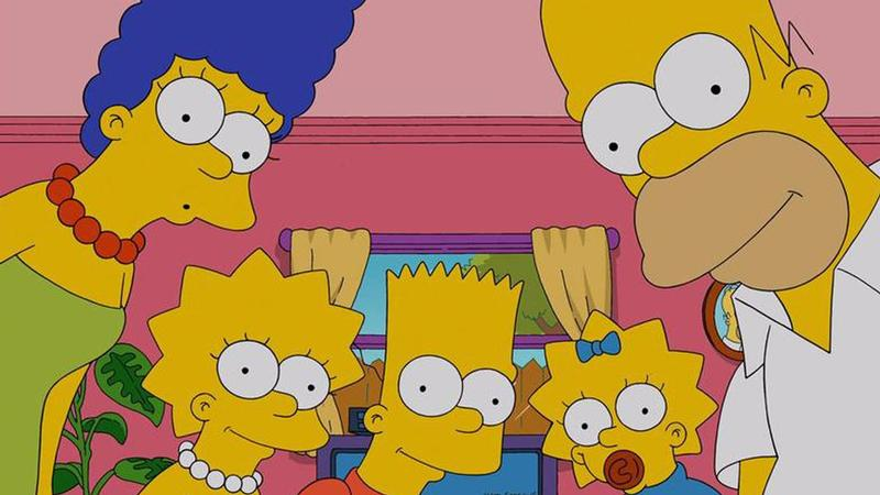 simpsons splash rechtenvrij royaltyfree idg