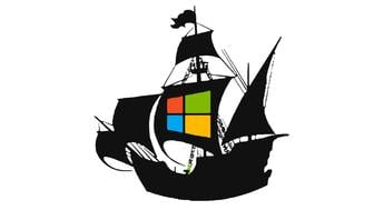 microsoft pirate piraterij boot
