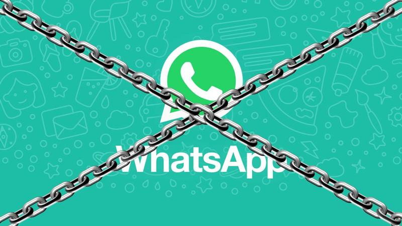 whatsapp lockdown slot blokkade